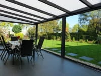 Polycarbonat Sommergarten- Keil und Dach mit Polycarbonat