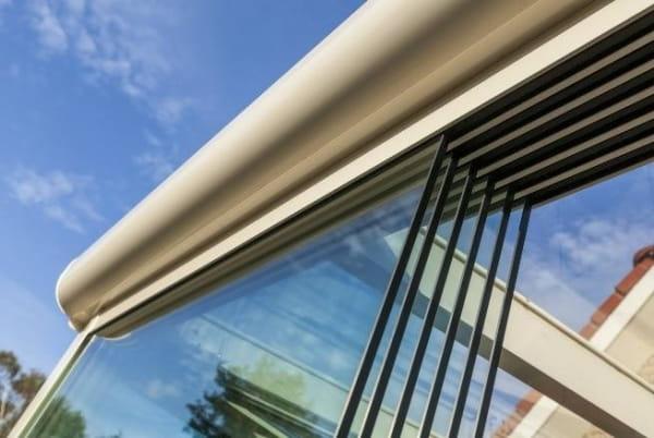 Terrassen Schiebetür aus Glas 6 teilig