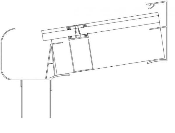 Terrassendach TerraEco Polycarbonat