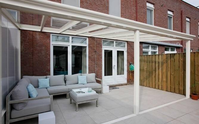 Bausatz Alu Terrassenüberdachung VSG vorgerichtet