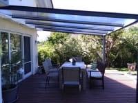 Terrassendach TerraEco Polycarbonat extra klar