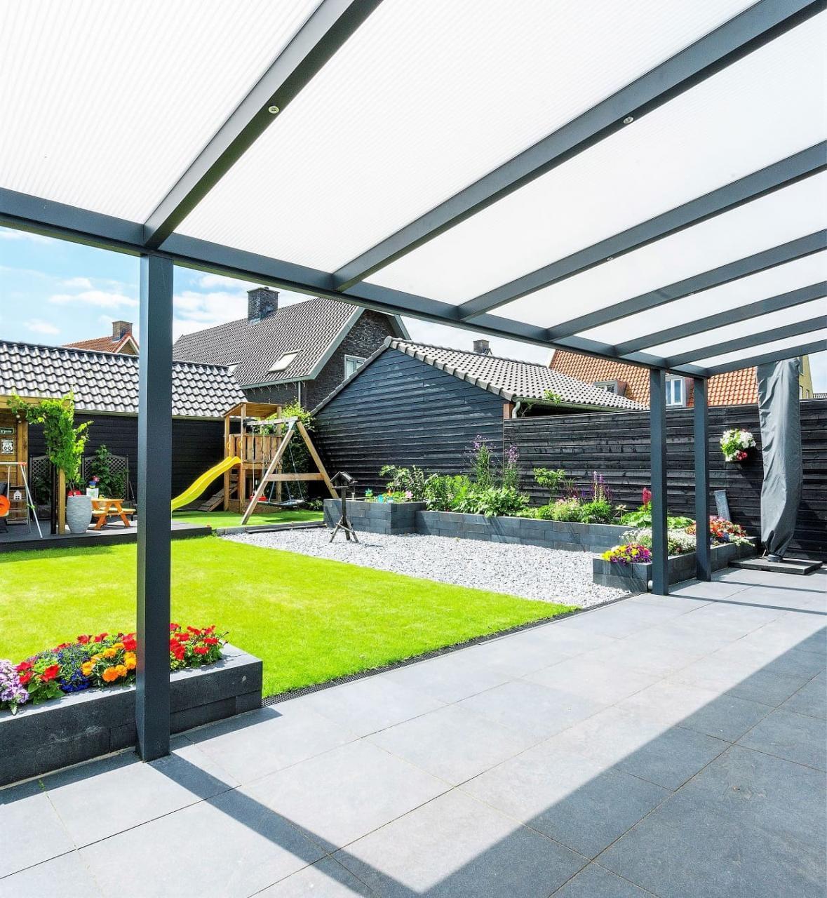 Terrassendach mit Polycarbonat Solar Control