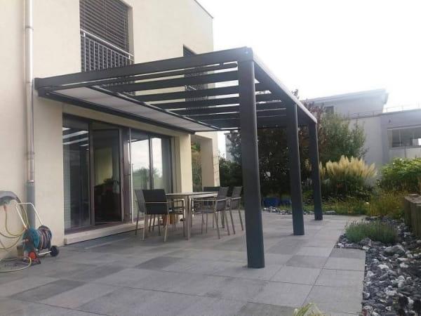 Terrassendach Unterglasmarkise