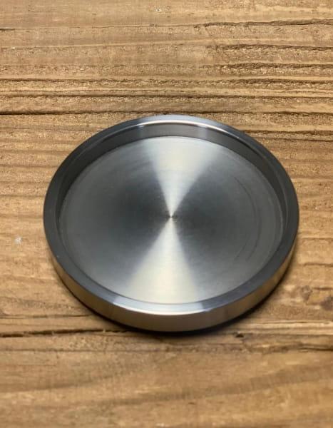 Edelstahl Klebegriff 8mm für Glasschiebewand