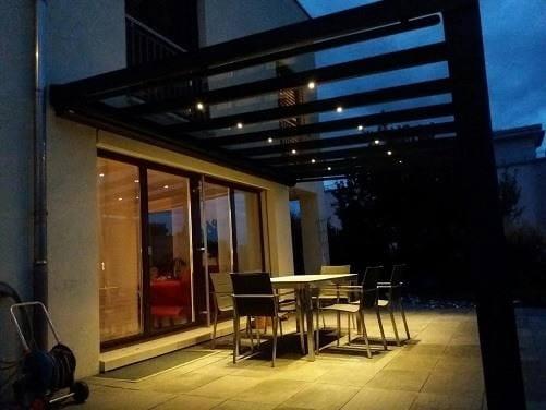 6er Set LED Strahler zum Einbau in Terrassenüberdachung