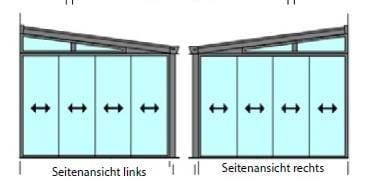 Detailansicht-Sommergarten-Glasschiebewand-linke-und-rechte-Seite